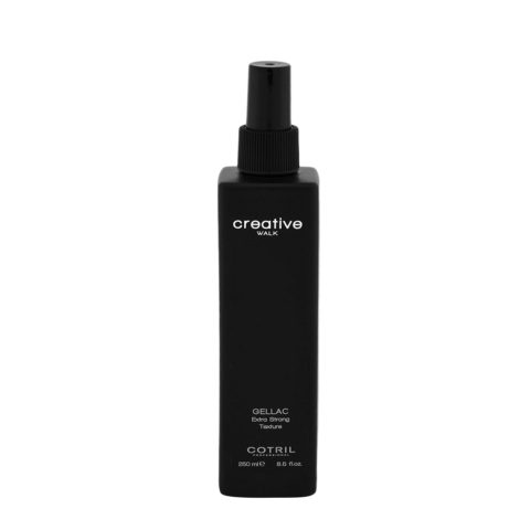 Cotril Creative Walk Styling Gellac Extra strong texture 250ml - Gel De Pulvérisation Extra Fort