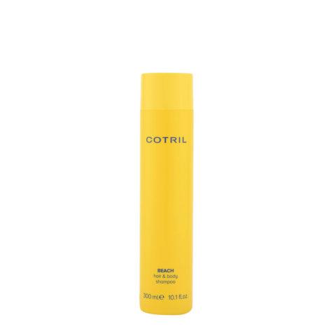 Cotril Beach hair & body Shampoo 300ml - Shampooing pour les cheveux et le corps
