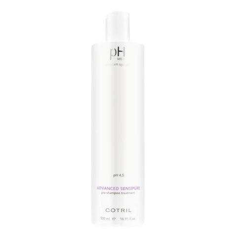 Cotril pH Med Advanced Sensipure Pre-Shampoo Treatment 500ml - pré-shampooing purifiant