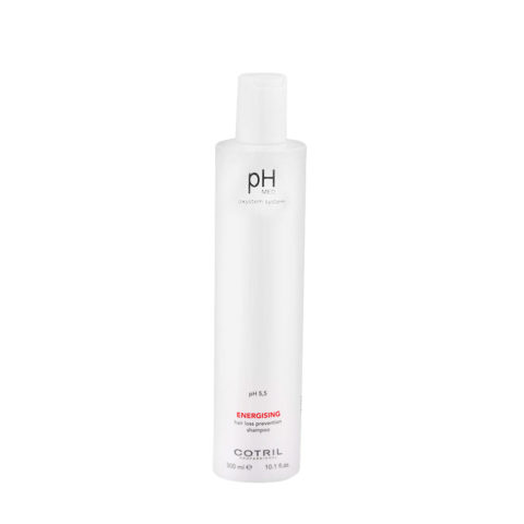 Cotril pH Med Energising Hair Loss Prevention Shampoo 300ml - antichute unisexe