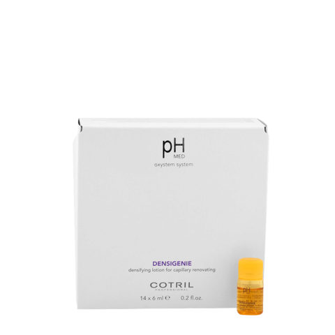 Cotril pH Med Densigenie Densifying Lotion for capillary renovating 14x6ml - flacons densifiants pour cheveux clairsemés