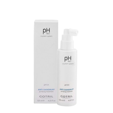 Cotril pH Med Anti-Dandruff Purifying Treatment 125ml - Lotion anti-pelliculaire purifiante