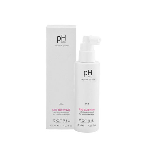 Cotril pH Med Sos Quieting Calming Tretament for sensitive scalps 125ml - lotion sensible et sensible