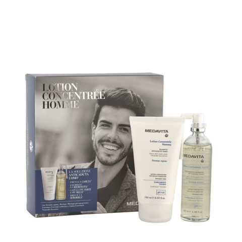 Medavita Scalp Lotion concentree homme Male Lotion 100ml + Shampoo 150ml