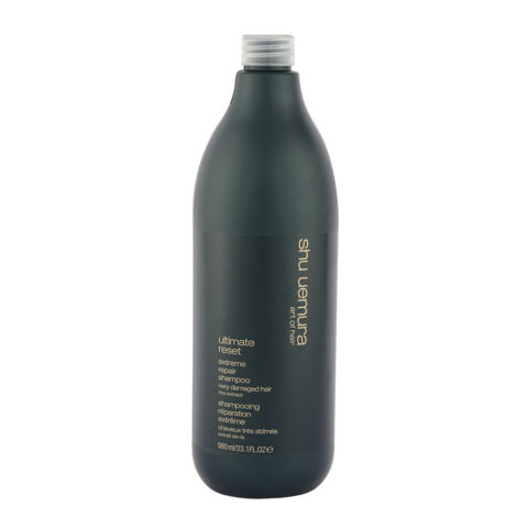 Shu Uemura Ultimate Reset Extreme Repair Shampoo 980ml - Shampooing réparation extrême