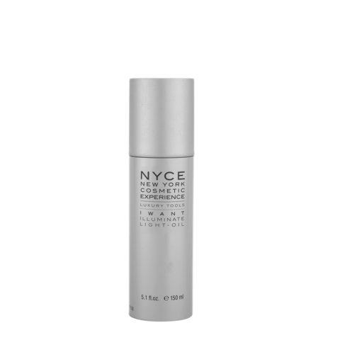 Nyce Styling system Luxury tools I want Illuminate Light oil 150ml