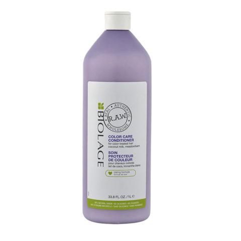 Biolage RAW Color Care Conditioner 1000ml - après shampooing pour cheveux colorés