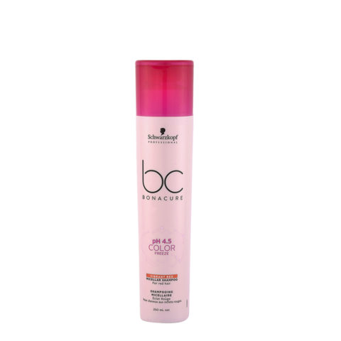 Schwarzkopf BC Bonacure pH 4.5 Color Freeze Vibrant Red Shampoo 250ml