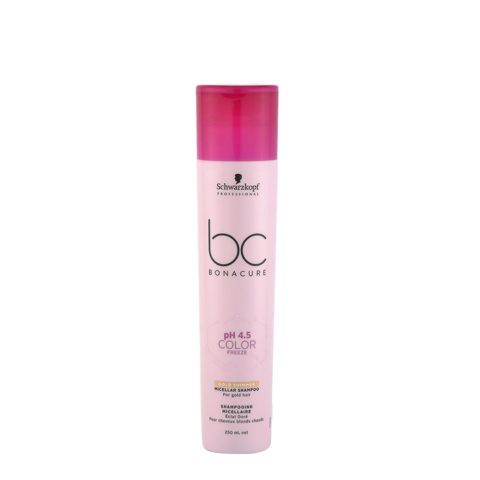 Schwarzkopf BC Bonacure pH 4.5 Color Freeze Gold Shimmer Micellar Shampoo 250ml