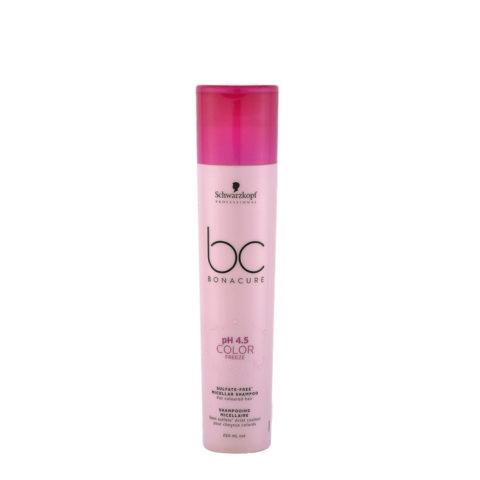 Schwarzkopf BC Bonacure pH 4.5 Color Freeze Sulfate Free Micellar Shampoo 250ml