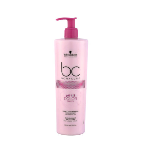 Schwarzkopf BC Bonacure pH 4.5 Color Freeze Micellar Cleansing Conditioner 500ml