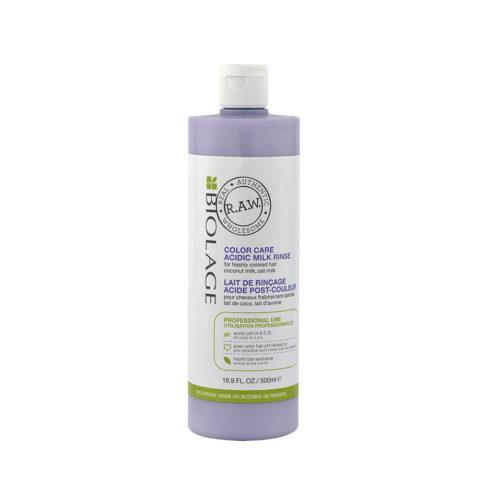 Biolage RAW Color Care Conditioner 1000ml - lait après coloration