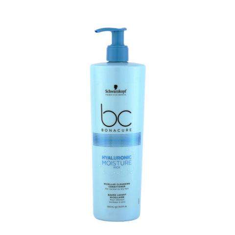 Schwarzkopf BC Bonacure Hyaluronic Moisture Kick Cleansing Conditioner 500ml