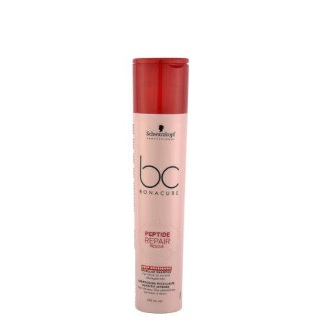 Schwarzkopf BC Bonacure Peptide Repair Rescue Deep Nourishing Micellar Shampoo 250ml