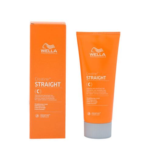 Wella Creatine+ Straight C 200ml Crème Lissante Pour Cheveux Colorés Et Sensibles 200ml