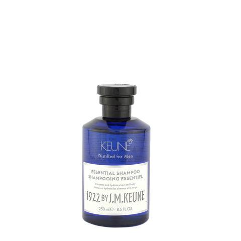 Keune 1922 Essential Shampoo 250ml - shampooing essentiel