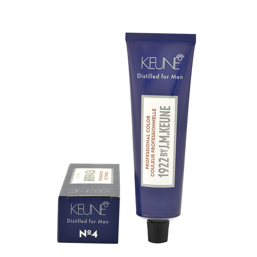 N 4 Keune 1922 Color Medium brown 60ml - chatain moyen