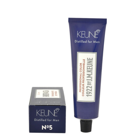 N 5 Keune 1922 Color Light brown 60ml - chatain clair