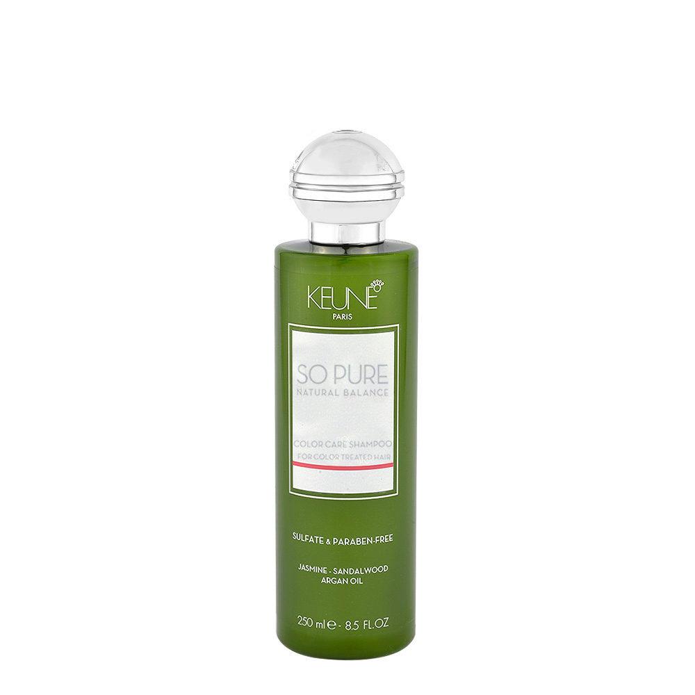 Keune So Pure Color Care Shampoo 250ml - Bain lavant de protection pour cheveux colorés