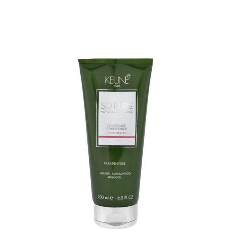 Keune So Pure Color Care Conditioner 200ml - baume cheveux colorés et traités