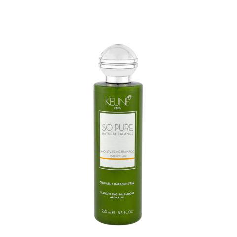 Keune So Pure Moisturizing Shampoo 250ml - Shampooing Hydratant