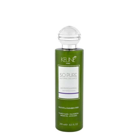 Keune So Pure Recover Shampoo 250ml - Shampooing Réparateur