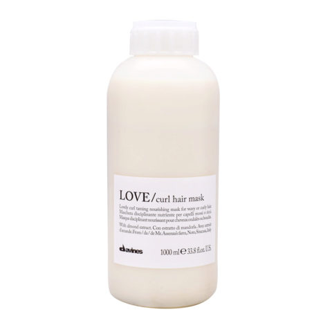 Davines Essential haircare Love curl hair mask 1000ml - masque cheveux bouclés