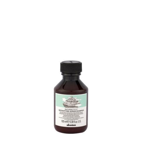 Davines Naturaltech Detoxifying Scrub Shampoo 100ml - Shampoing revitalisant