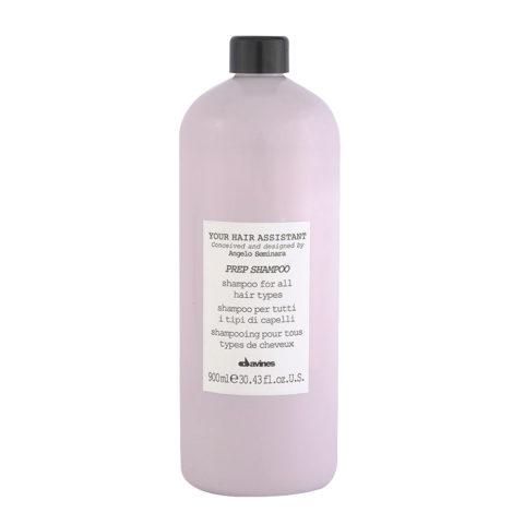 Davines YHA Prep shampoo 900ml - Shampooing pour tous types de cheveux
