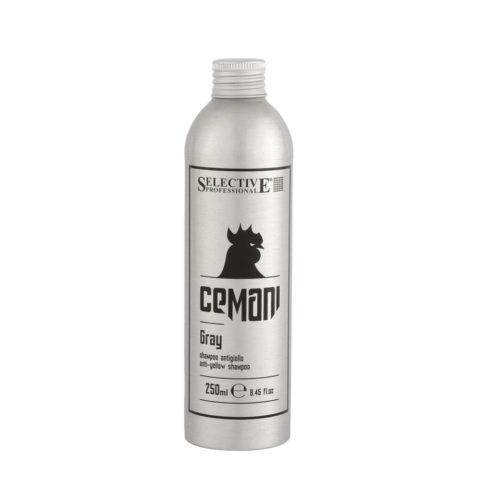Selective Cemani Gray Shampoo 250ml - shampooing anti-jaune