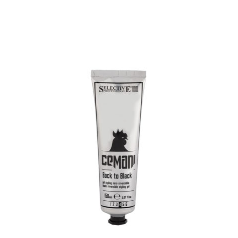 Selective Cemani Back to black 150ml - gel noir réversible