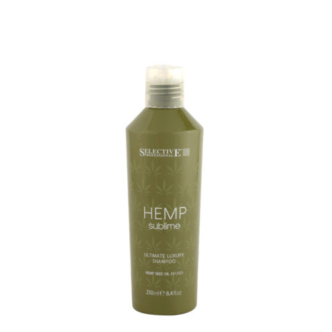 Selective Hemp sublime Ultimate luxury Shampoo 250ml - avec de l'huile de graines de chanvre