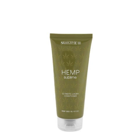 Selective Hemp sublime Ultimate luxury Conditioner 200ml - huile de graines de chanvre balsamique