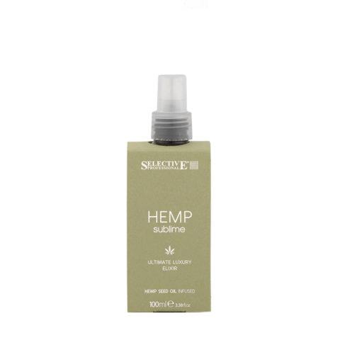 Selective Hemp sublime Ultimate luxury Elixir 100ml - élixir à l'huile de graines de chanvre