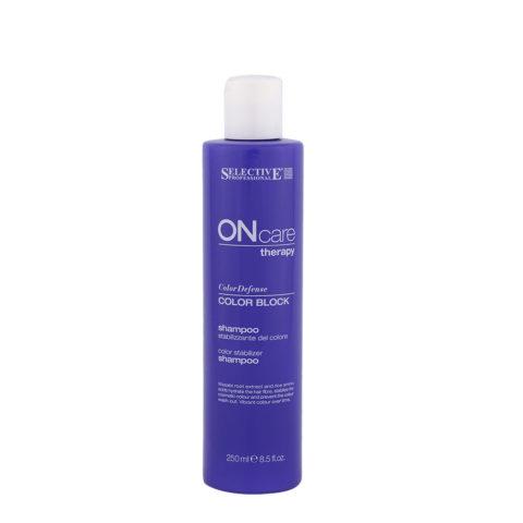 Selective On care Color Defense Color block Shampoo 250ml - shampooing stabilisateur couleur