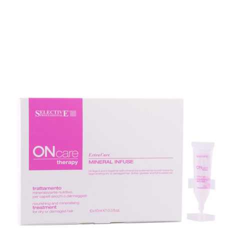 Selective On care Extra Care Mineral Infuse Treatment 10x10ml - traitement minéralisant