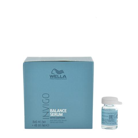 Wella Invigo Balance Anti-hairloss Serum 8x6ml - serum anti-chute