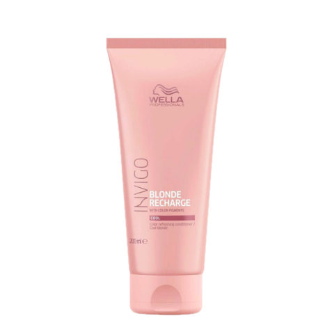 Wella Invigo Blonde Recharge Cool Blonde Conditioner 200ml - apres-shampooing avec pigments blond froid