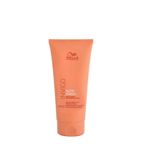 Wella Invigo Nutri-Enrich Masque Express chauffant 150ml - masque d'activation térmique