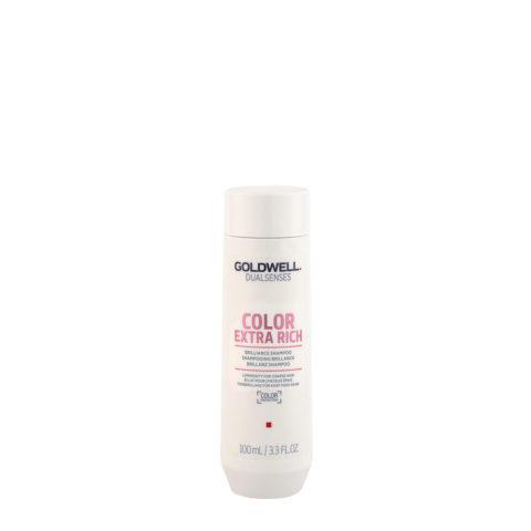 Goldwell Dualsenses Color Extra Rich Brilliance Shampoo 100ml - Shampooing cheveux colorès gros