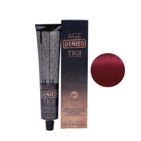 7/64 Blonde ruge cuivre Tigi Age Denied 90ml