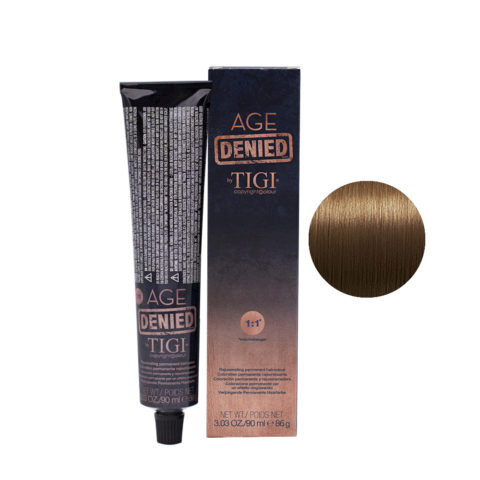 7/3 Golden blonde Tigi Age Denied 90ml - blond doré