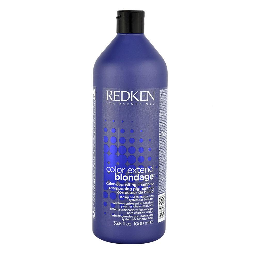 Redken Color extend Blondage Shampoo 1000ml - shampooing cheveux blonds
