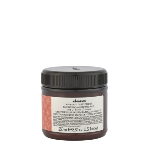 Davines Alchemic Conditioner Red 250ml - Crème conditionnante colorée pour cheveux rouges