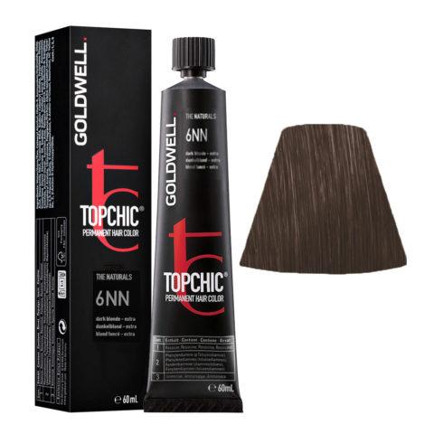 6NN Blond foncé extra Goldwell Topchic Naturals tb 60ml