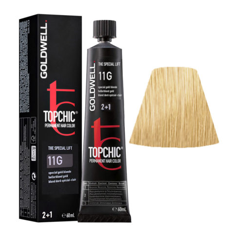 11G Blond doré special-clair Goldwell Topchic Special lift tb 60ml
