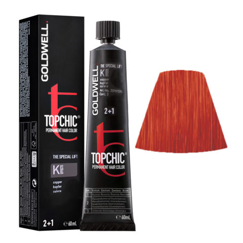 K EFFECTS Cuivré Goldwell Topchic Special lift effects tb 60ml