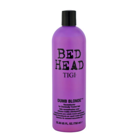 Tigi Bed Head Dumb Blonde Reconstructor 750ml - après-shampooing cheveux traités blondes