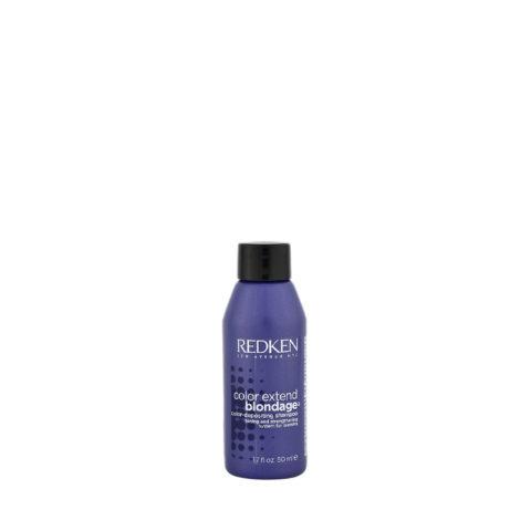 Redken Color extend Blondage Shampoo 50ml - shampooing cheveux blonds