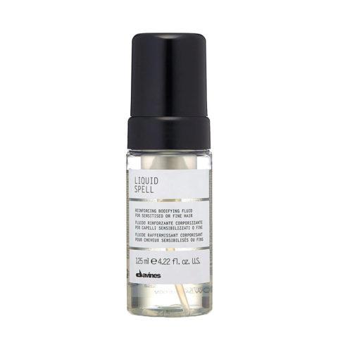 Davines Liquid spell 125ml - Fluide raffermissant corporisant pour cheveux sensibilisés ou fins